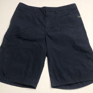 QUICKSILVER Mens 34 Navy Blue Bermuda Shorts